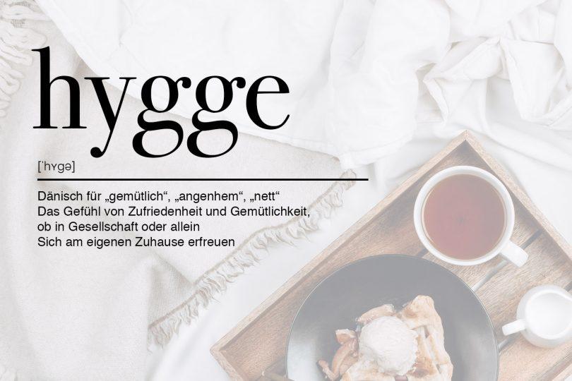 Definition von Hygge