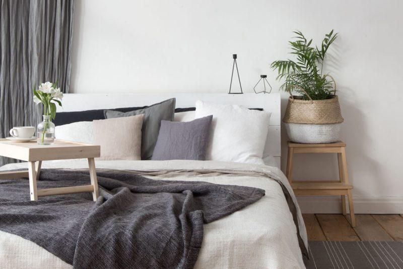 Schlafzimmer im Hygge Stil